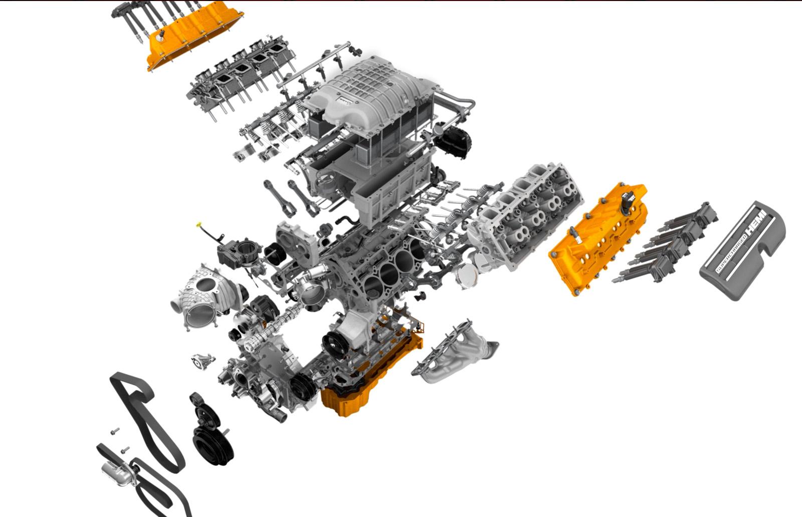 Piezas del motor