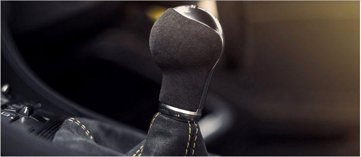 Transmisión palanca de cambios de un carro