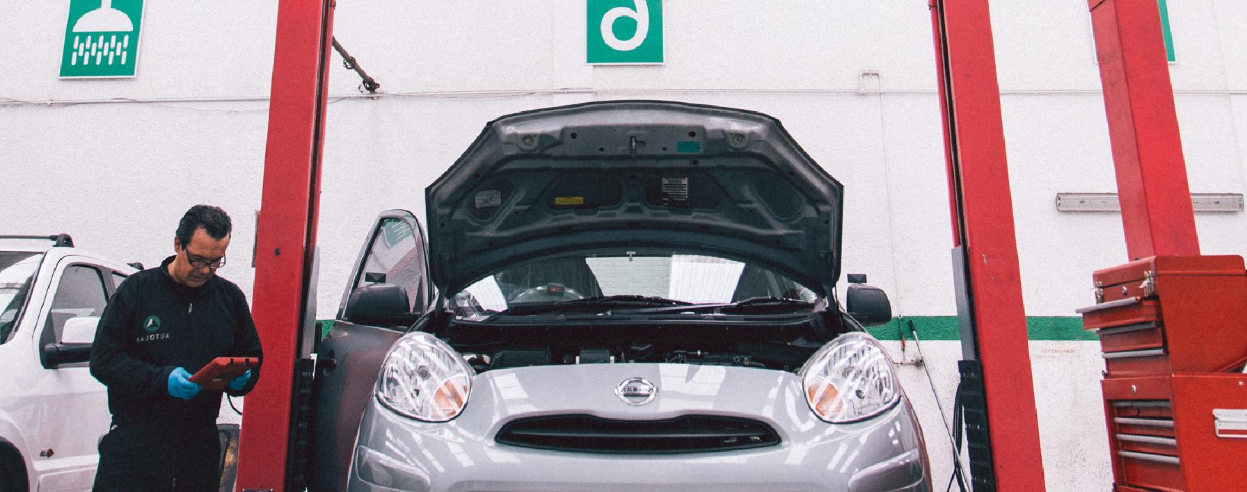 El sistema de electrizidad de un carro