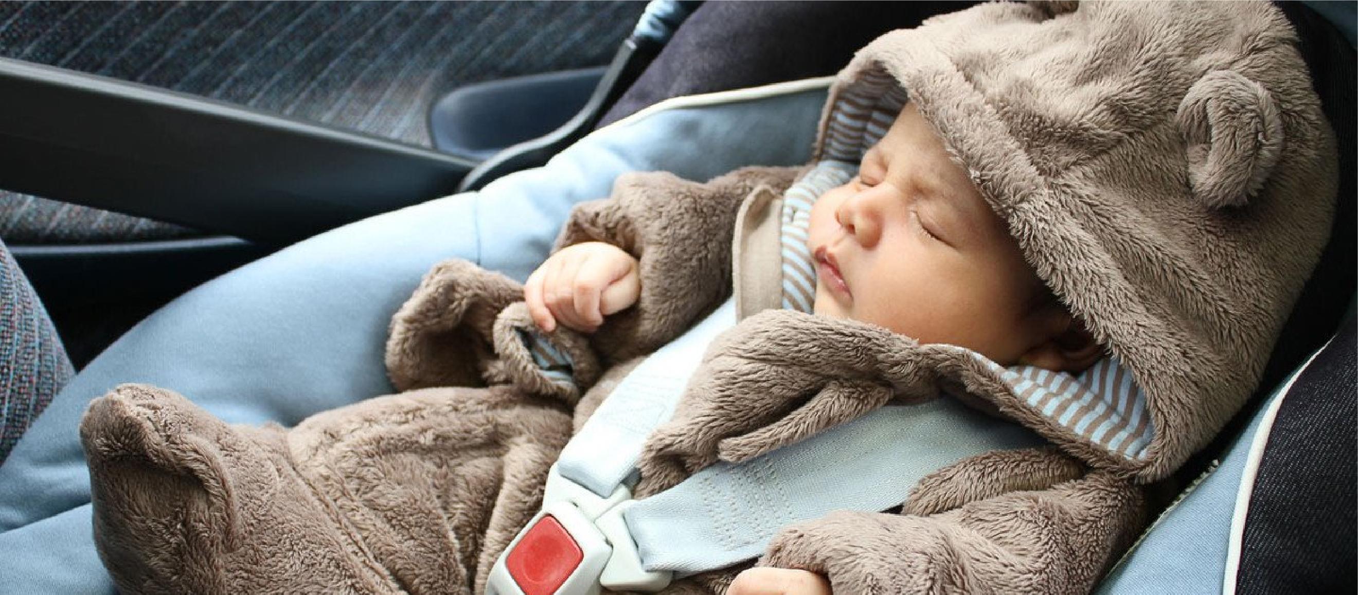 Consejos para transportar a tu bebé en el carro