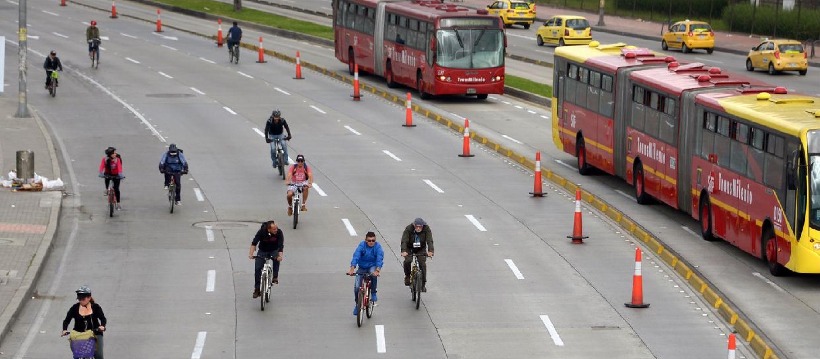 Alternativas de transporte para el día sin carro