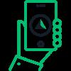 Icono de la aplicación de clientes de Autolab