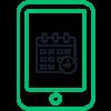 Icono de la reservación automatizada en línea de Autolab